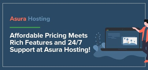 Affordable Transparent Pricing Meets A Rich Feature Set And 24 7 Support At Asura Hosting