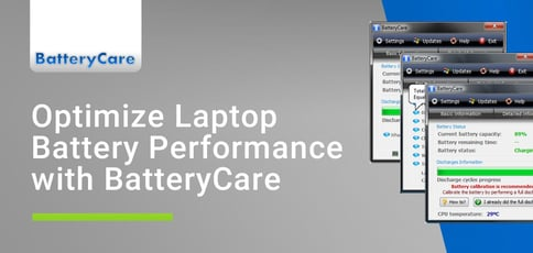 Optimize Laptop Battery Performance With Batterycare