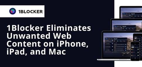1blocker Eliminates Unwanted Web Content