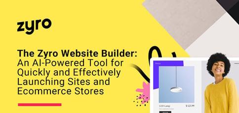The Zyro Website Builder