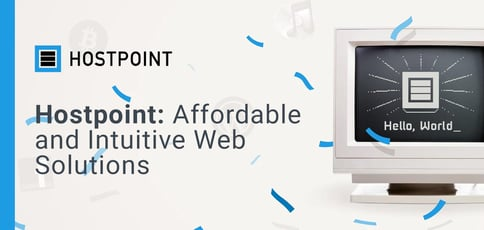 Hostpoint Delivers Affordable And Intuitive Web Solutions