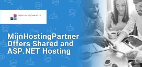 Mijnhostingpartner Offers Shared And Asp Net Hosting