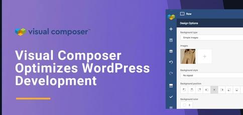 Visual Composer Optimizes Wordpress Development