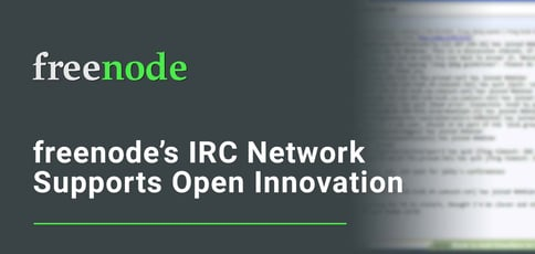 Freenode Supports Open Innovation