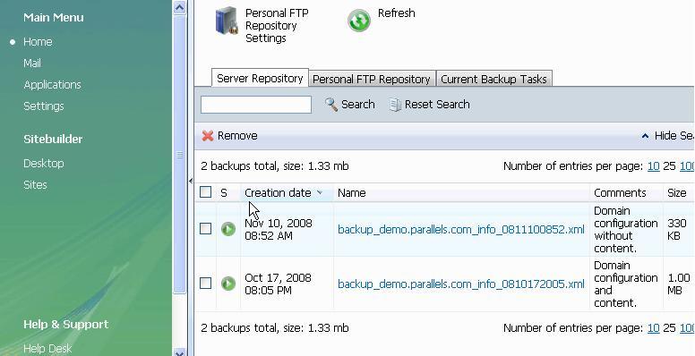 Server Repository