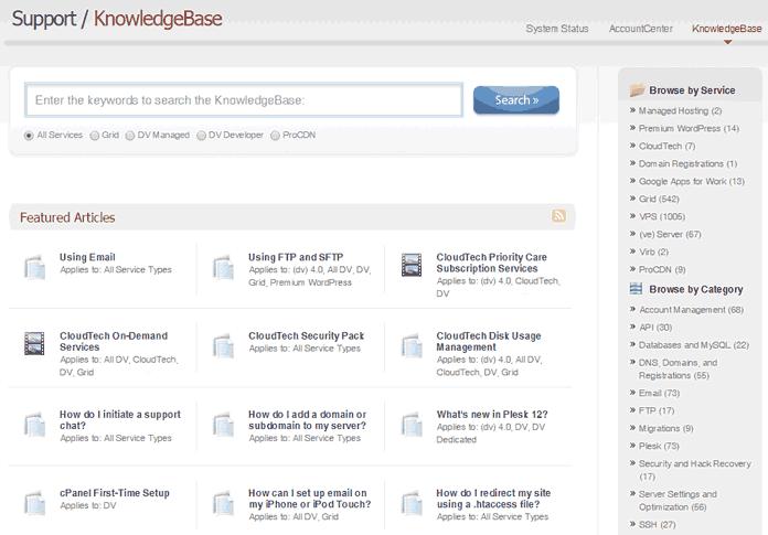 Media Temple KnowledgeBase