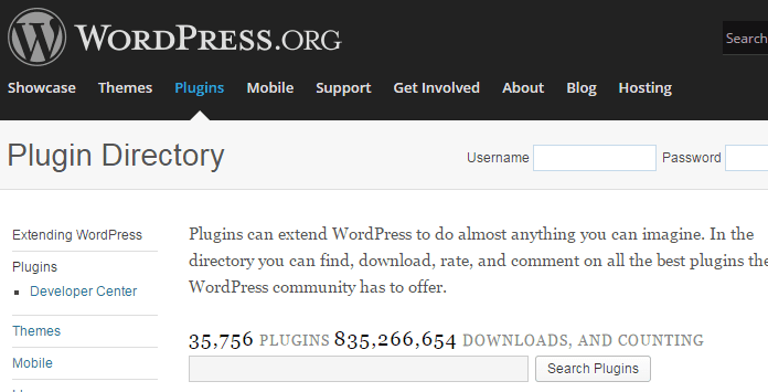 WordPress.org's Plugin Directory