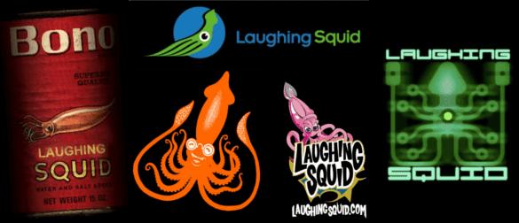 Laughing Squid logo evolution