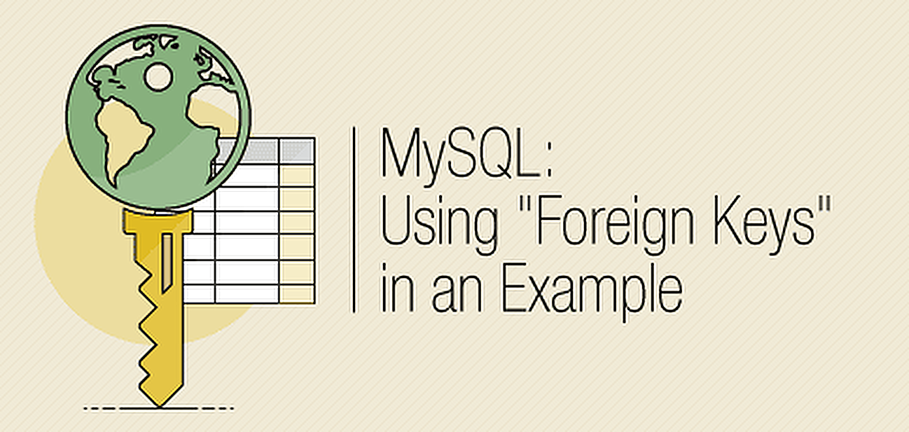 Follow our example referencing foreign keys in MySQL