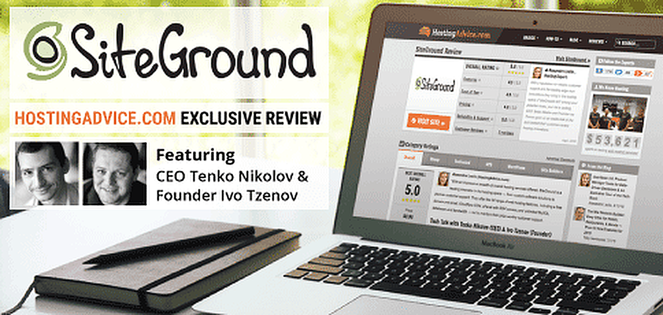 HostingAdvice.com Review of SiteGround