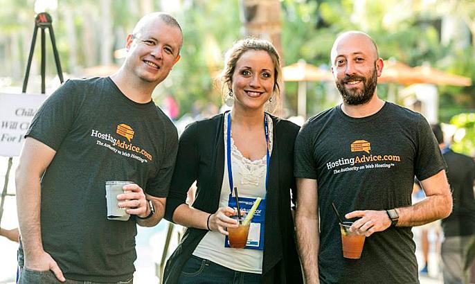 The HostingAdvice team can't wait for HostingCon Global 2016