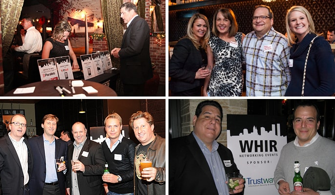 photos from past WHIR Networking Events