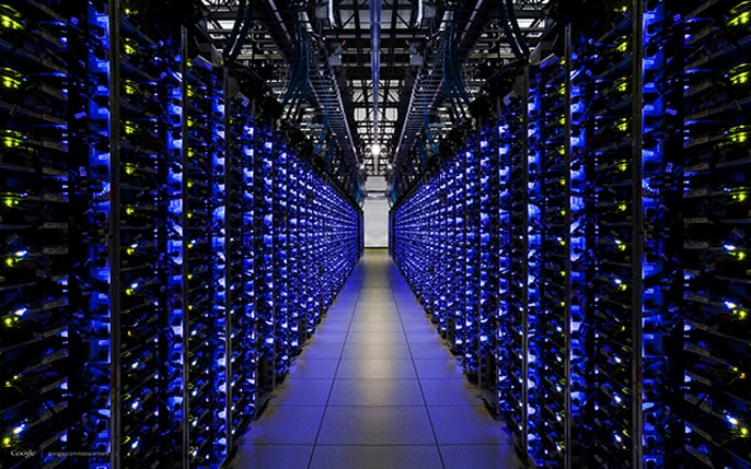 Image of BlueHost datacenters