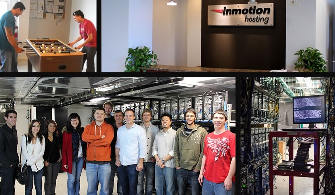 Photos of the InMotion team both at work and having fun