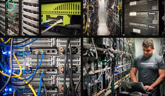 New photos of InMotion's datacenters