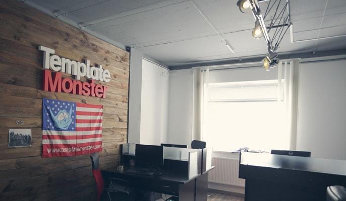 The TemplateMonster office