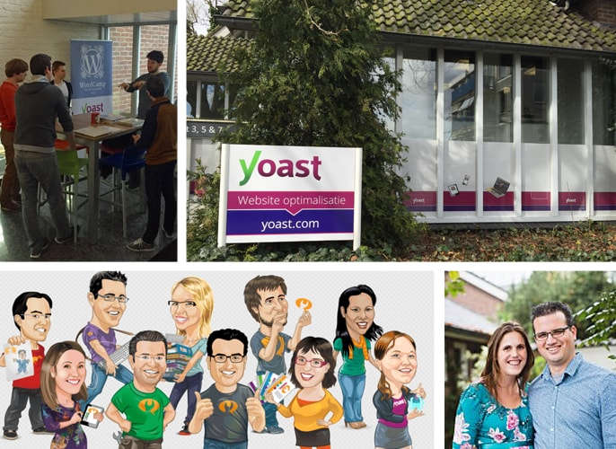 Yoast Office, Team, and Dev Members at Work