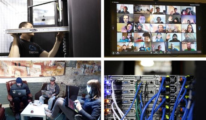 DigitalOcean datacenters and team