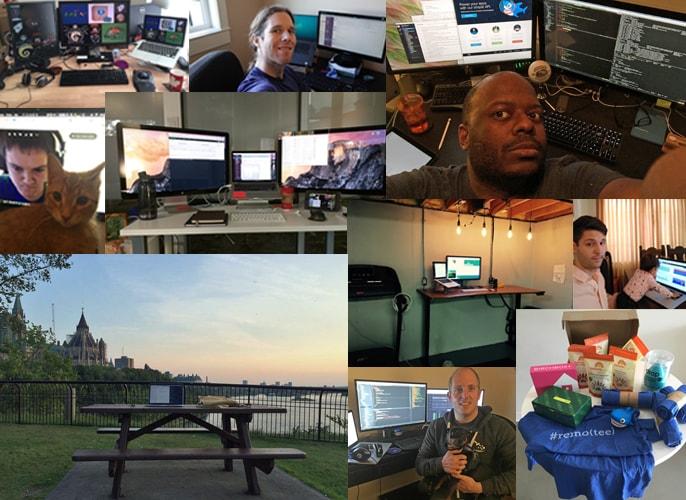 DigitalOcean remote employee workspaces