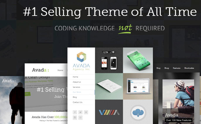 Avada WordPress theme screenshot