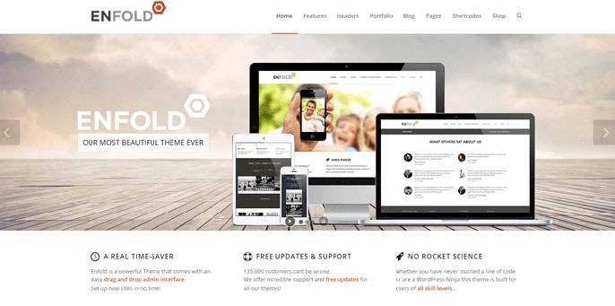 Enfold WordPress theme screenshot
