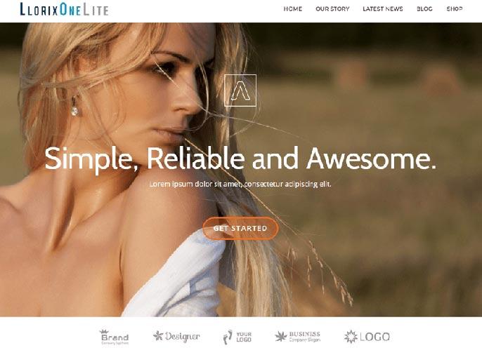 Llorix One Lite WordPress theme screenshot