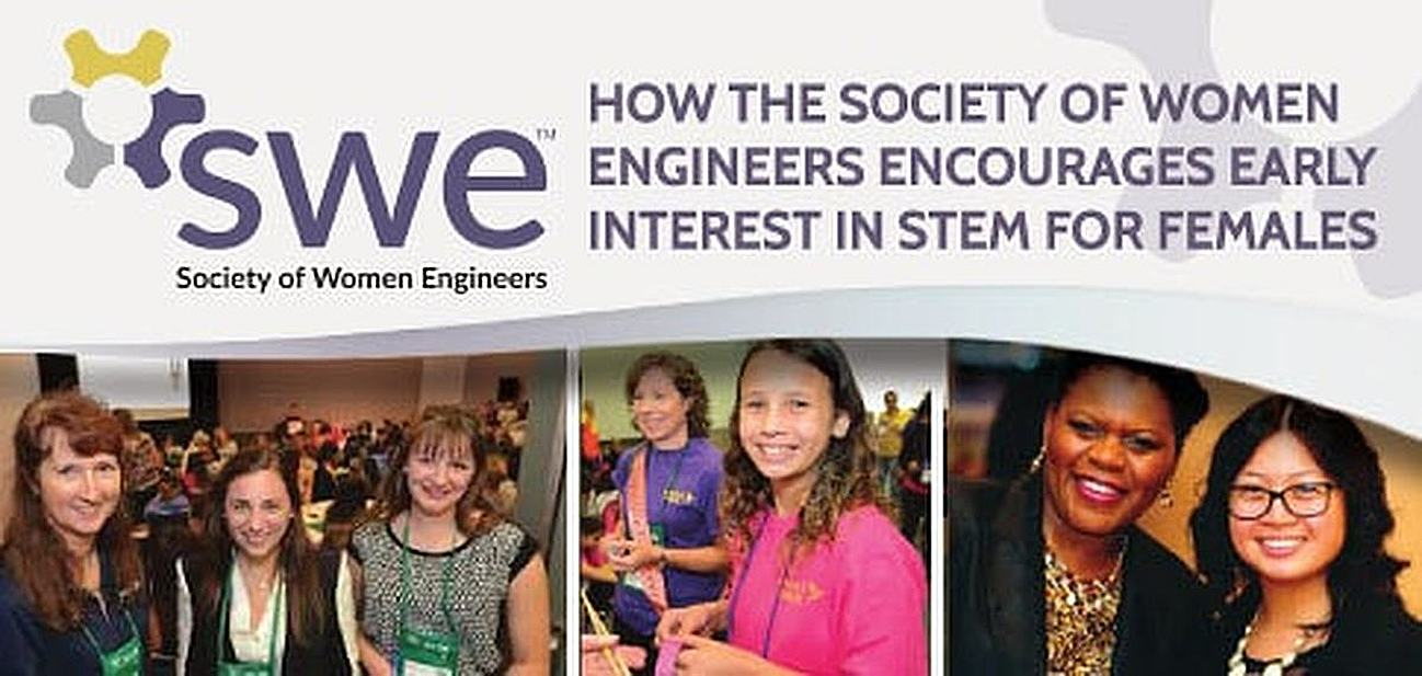 SWE President Addresses the STEM Gender Gap
