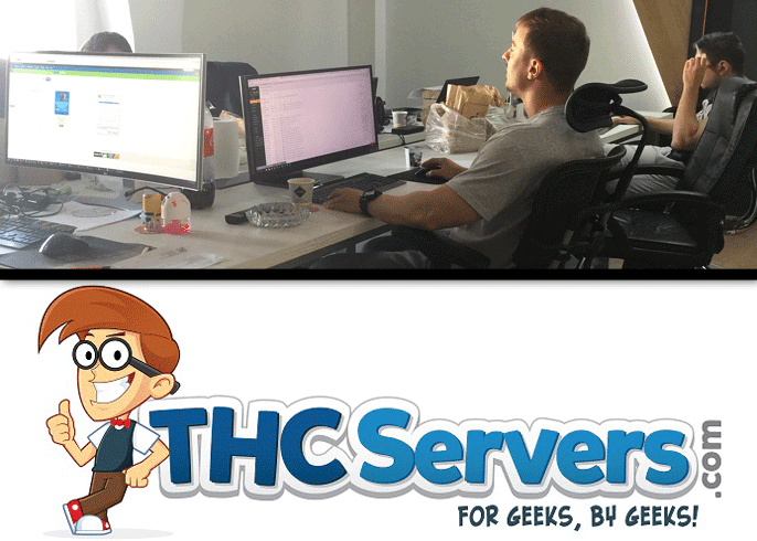 THCServers motto: For Geeks, By Geeks