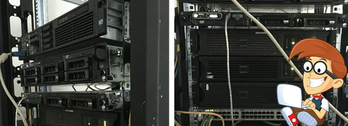 Shots of THCServers new servers
