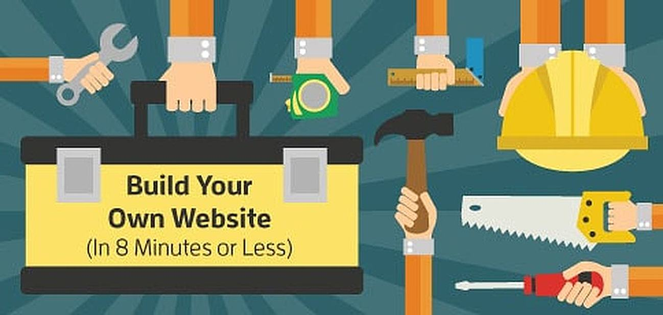 How to Build Your Own Website in 8 Minutes Or Less