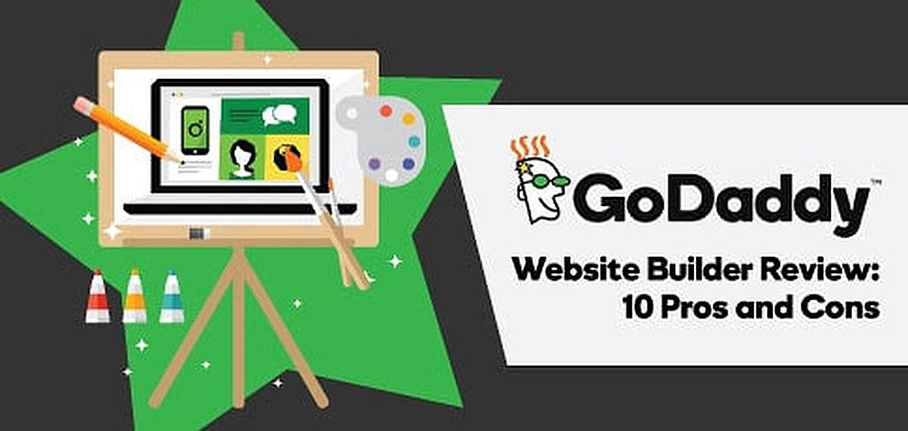 Pros and cons of Godaddy's website builder