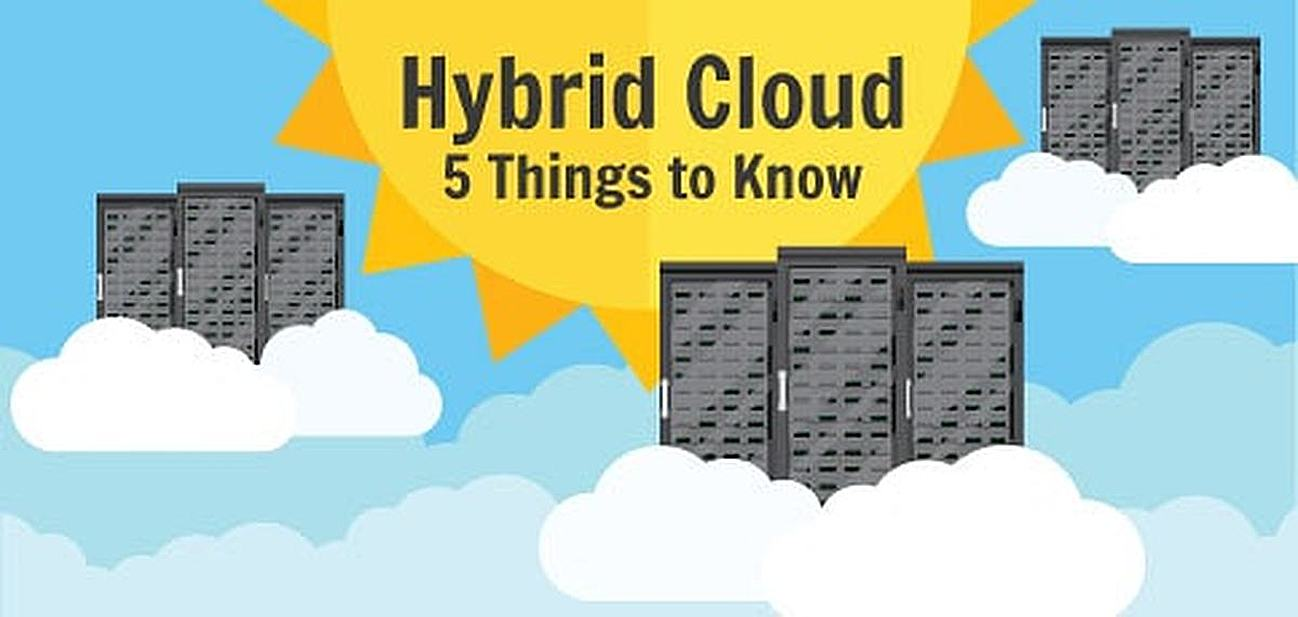5 things to know about hybrid clouds