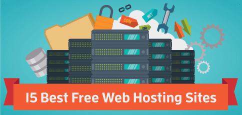 Best free hosting sites award graphic
