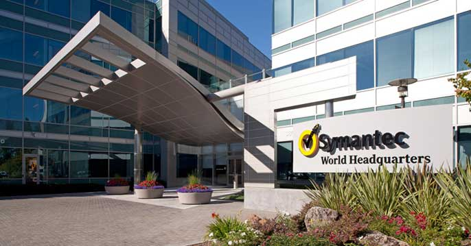An outside look at Symantec's World Headquarters