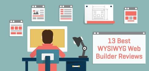 WYSIWYG web builder reviews