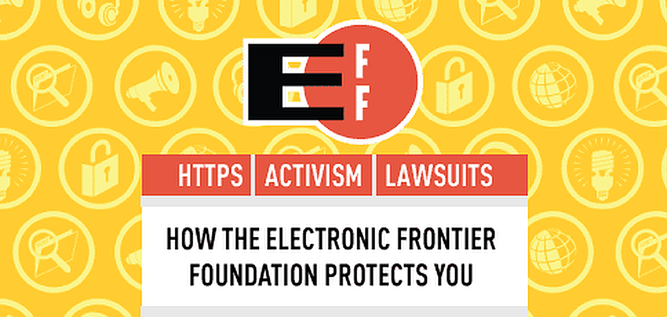 How the EFF Defends You — From Easy SSL Certificate Deployment to Lawsuits Against Those Who Try to Take Away Your Digital Rights