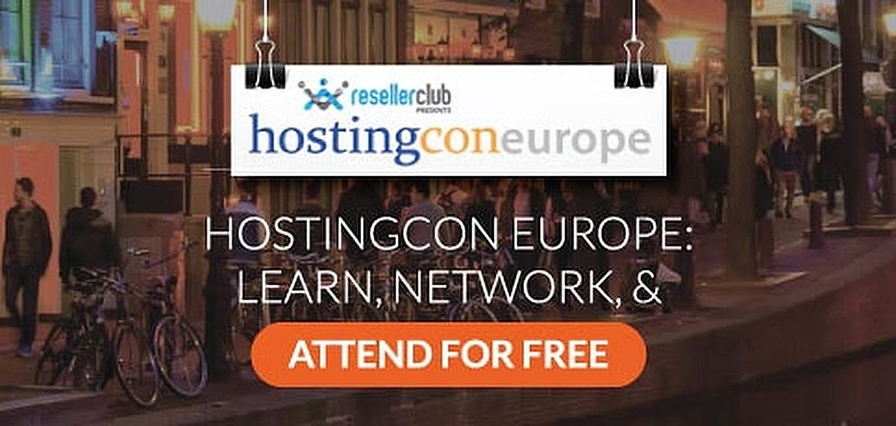 HostingCon Europe: Learn, Network, and Attend for Free