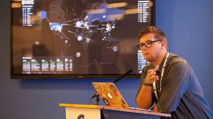 Jamie Woodruff speaking about web security