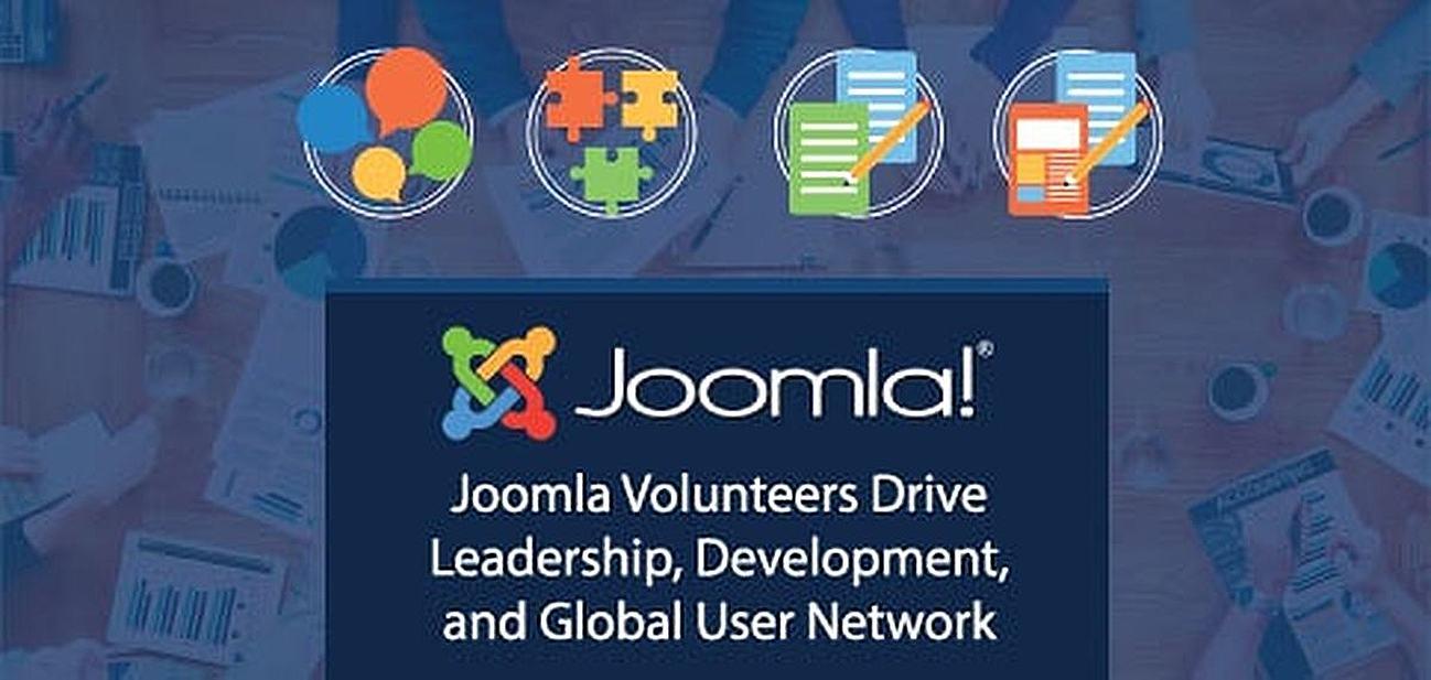 Joomla volunteers drive leadership, development, and global user network