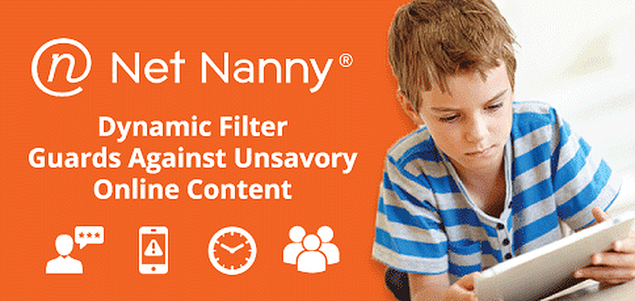 Net Nanny's Dynamic Filter Guards Against Unsavory Online Content