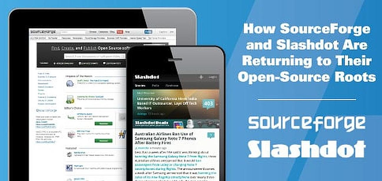 How SourceForge and Slashdot Are Returning to Their Open-Source Roots