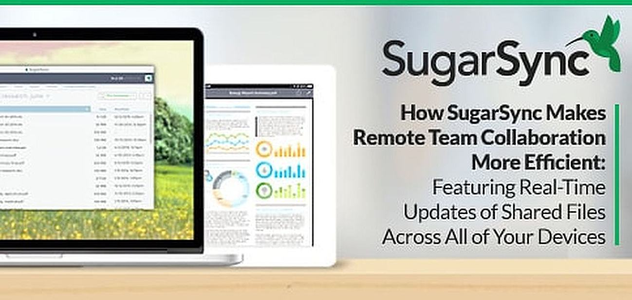 How SugarSync Makes Remote Team Collaboration More Efficient — Featuring Real-Time Updates of Shared Files Across All of Your Devices