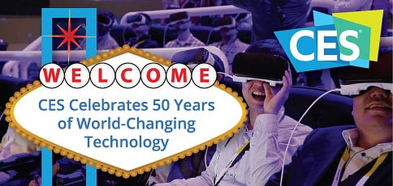 """CES<span class=""""registered"""">®</span> Celebrates 50 Years as the Launchpad for World-Changing Tech: 5 Innovations & Next-Gen Topics We're Excited to See This Year"""