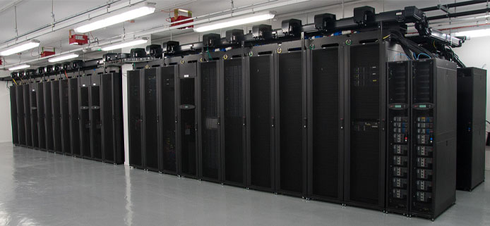 Photo of Interoute Paris datacenter