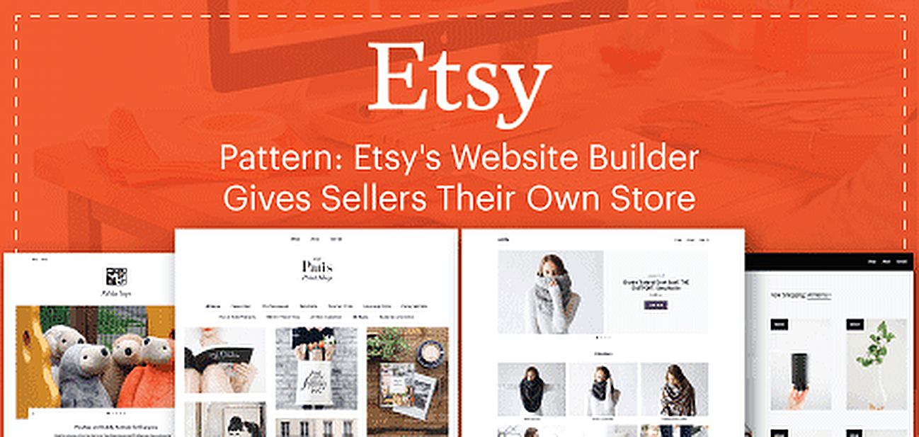 Pattern: Etsy's Website Builder Gives Sellers Their Own Store