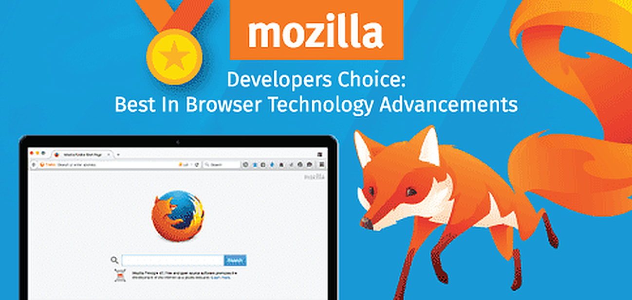 Mozilla Awarded Developer's Choice: Best in Browser Tech Advancements