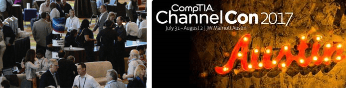 Photo of CompTIA event