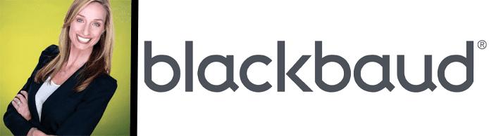 Catherine LaCour, Blackbaud's Senior Vice President of Corporate Marketing