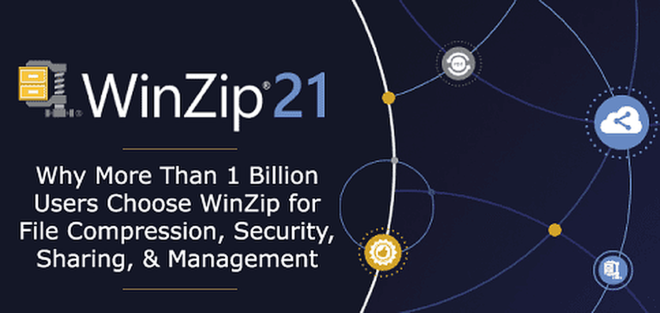 WinZip 21: Why Millions of Users Choose the File Compression Software With Enhanced Security, Sharing, and Management Functionality