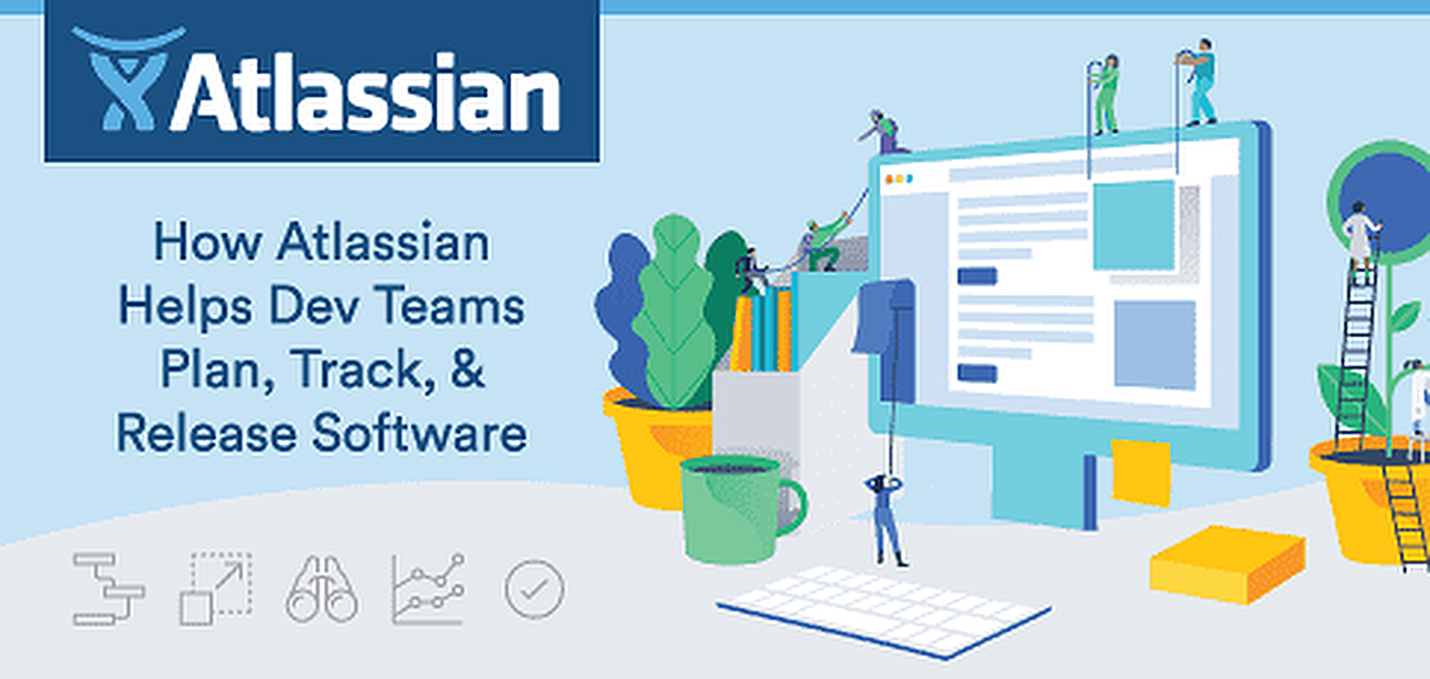 How Atlassian's JIRA Software Breaks Down Walled Dev Strategies & Helps Teams Collaborate to Efficiently Plan, Track, & Release Software